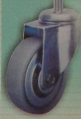 Thread Type Casters And Rubber Wheels