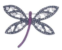 High-End Dragonfly Brooches