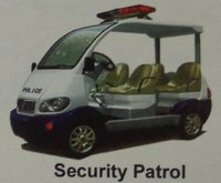 Battery Operated Security Patrol Vehicle