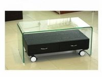 Contemporary Coffee Glass Table