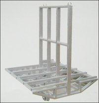 Rotating Table For Moving Trolley To Autoclave