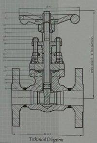 Forged Steel Wedge Gate Valve Pressure Class 150 Through 1500