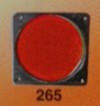 Reflex Reflector Tata 1312 Sq. Type (Black Body)