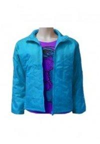 Sky Blue Light Padded Jacket