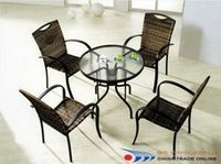 Aluminum Garden Table Set