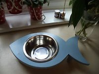 Fish Shape New Single Pet Bowl