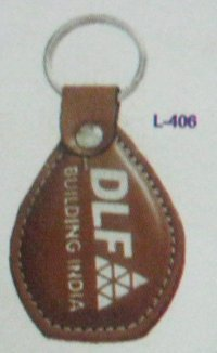 Leather Keychains (L406)