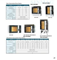 Electrical Convention Oven Series