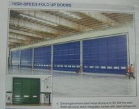 High-Speed Fold Up Doors