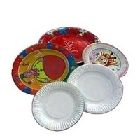Disposable Colored Paper Plates