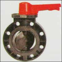 Upvc Butterfly Valve Handle Operated