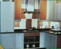 Durable Mdf Wood Modular Kitchen