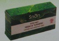 Extra Mild Neem & Turmeric Organic Anti Acne Bath Soap