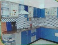 Mdf Wood Modular Kitchen