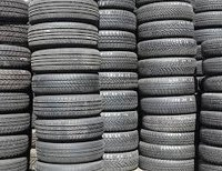Used Car Tires with 5mm - 8mm Tread Depth