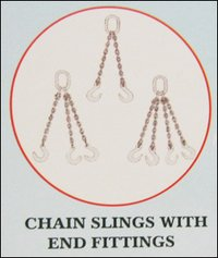 Chain Sling With End Fittings