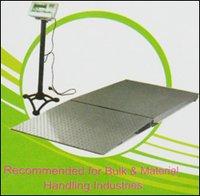 Customized Industrial Platform Weighing Machines