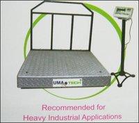 Heavy Industrial Platform Weighing Scales