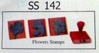 Flowers Rubber Stamps (Ss 142)