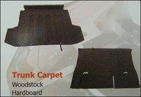 Passenger Car Trunk Carpet