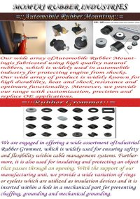 Grommets And Automotive Rubber Mounting