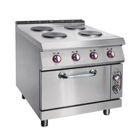 Electric 4-Hot Plates Range