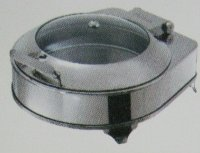 Round Glass Lid Chafer