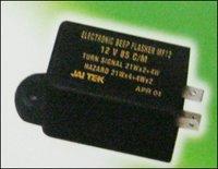 Automotive Electronic Flashers (Buzzer Cum Flasher)