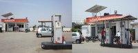 Solar Power System For Petrol Pump