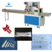 Syringe, Injector Packaging Machine