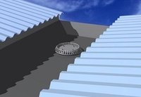 Industrial Roof Rain Water Gutter System