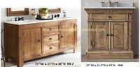 Solid Wood Bathroom Vanity Cabinets