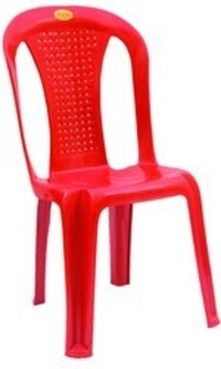 Armless Net Plastic Chairs-Chr 4001