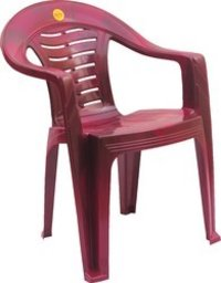 High Back Wave/Lehar Plastic Chairs-Chr 5002