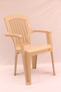 Stripe Square Back Plastic Chair Chr 3001