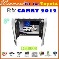DH8008 8 inch Car DVD Player GSP Radio for Toyota CAMRY 2012