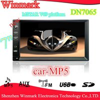 LCD Display Car MP5 With Bluetooth/Radio/TV/USB/SD/Aux Functions DN7065