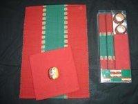 Xmas Ribbed Mat Gift Set