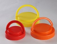 Carry Handle Round Plastic Caps