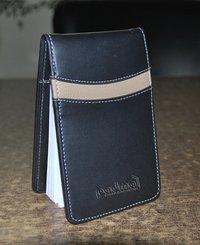 Leatherette Flip Style Notepad Jacket