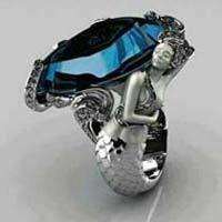Sterling Silver Fancy Mens Rings