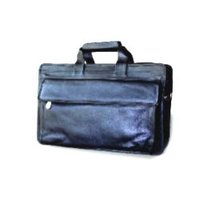 Leather Portfolio Cum Laptop Bag