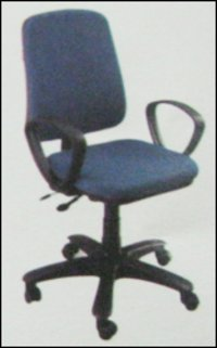 Blue Colour Office Chair