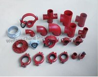 Grooved Pipe Fittings And Coupling