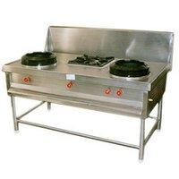 Durable Three Burner Gas Range