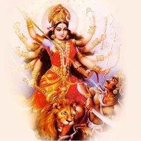 Mahishasura Mardini Paintings