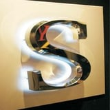SS Letter WIth LED Lights