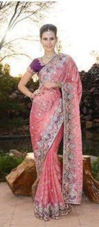 46646de6c15a9 Banarasi Khaddi Saree With Resham Blouse in Delhi