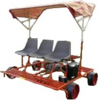 Light Weight Self Propelled Motorized Trolley
