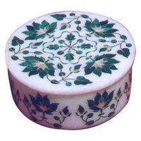Handicraft Marble Inlay Box